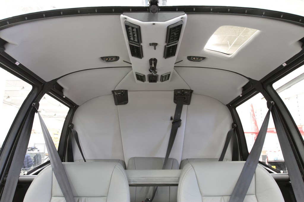 r66 air conditioning grey headliner and seats