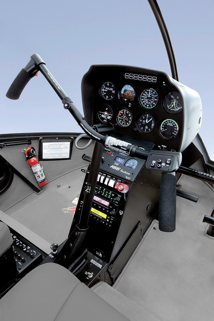 r66 standard instrument console