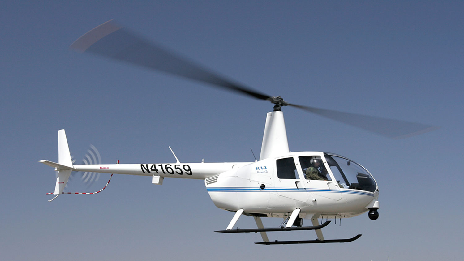 R44 POLICE HELICOPTER