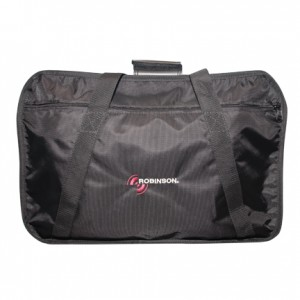 black mesh robinson r66 travel bag