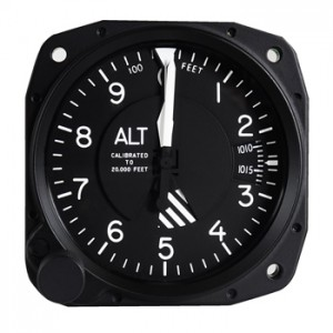 millibar altimeter avionics instrument