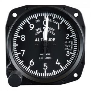 meter altimeter avionics instrument