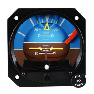 Artificial Horizon Mid-Continent 4300 with Slip Skid