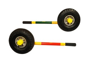 ground handling wheels for helicopter skids