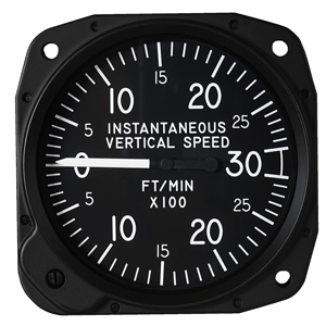 Instantaneous Vertical Speed Indicator avionics instrument