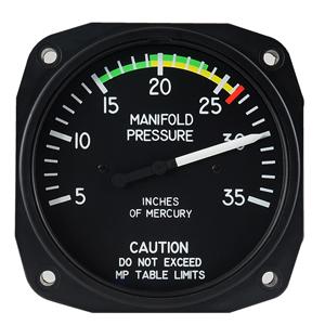 manifold pressure gage