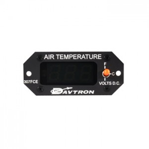 Digital outside air temperature gage