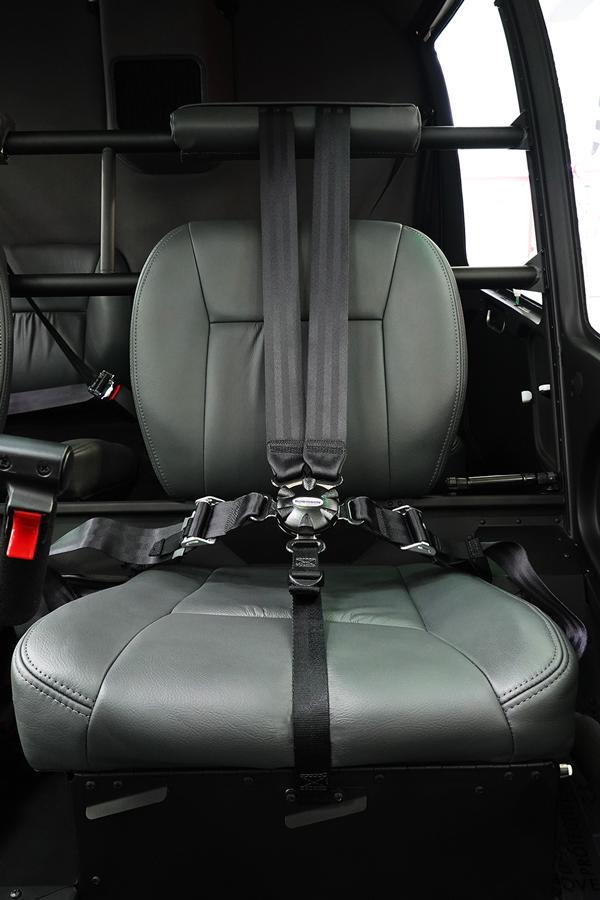 5 point harness seat belt
