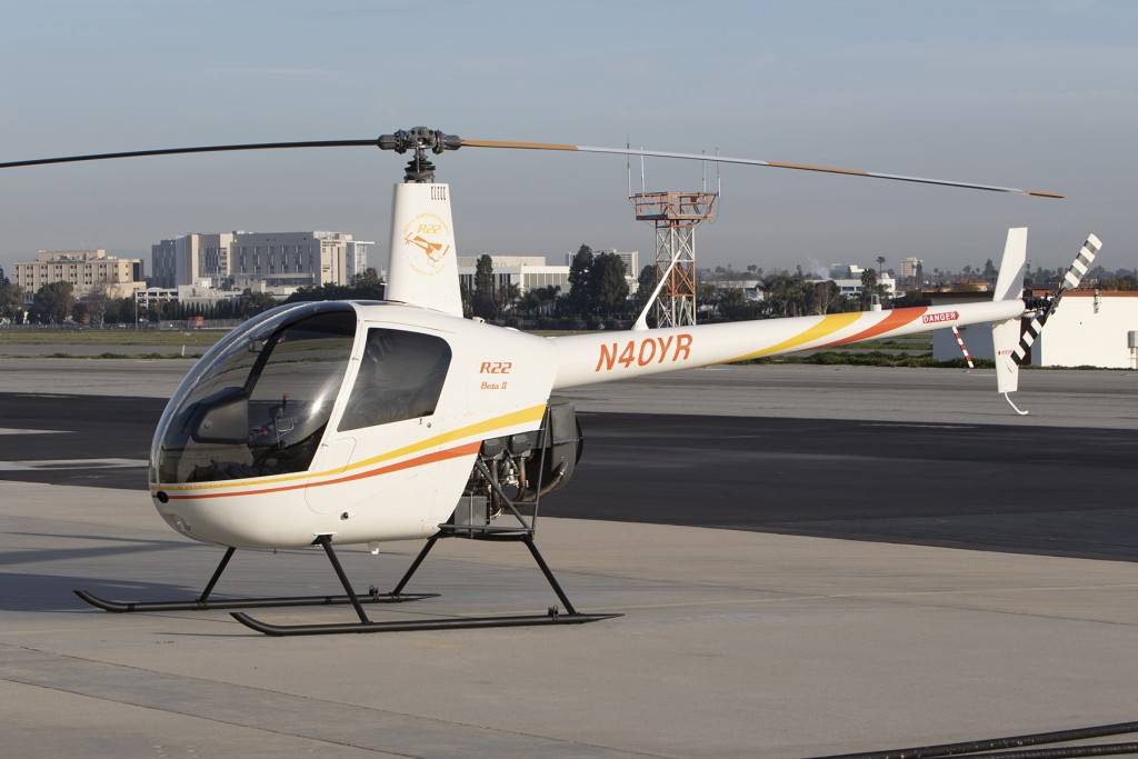 40th Anniversary R22 with tinted windows