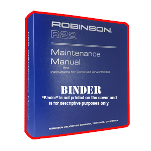 discontinued r22 maintenance manual binder